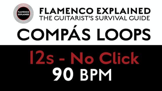 Compás Loops - 12s No Click 90 BPM