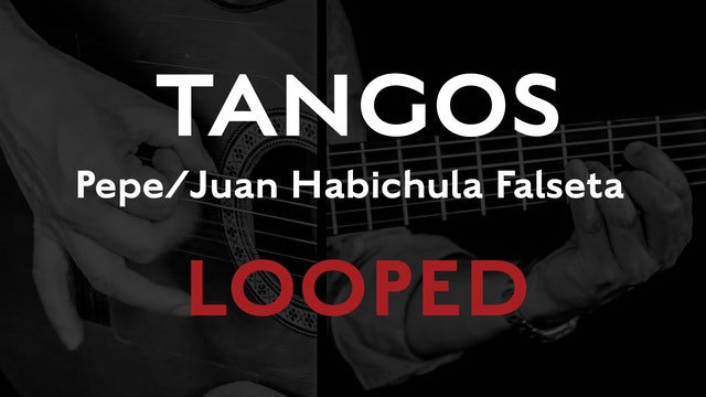 Friday Falseta - Tangos - Pepe/Juan Habichuela Falseta - LOOPED
