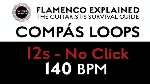Compás Loops - 12s No Click 140 BPM