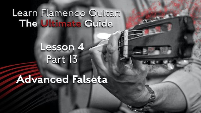 Lesson 4 - Part 13 - Advanced Falseta