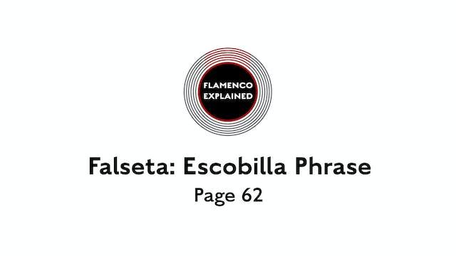 Alegrias Falseta: Escobilla Phrase Pa...