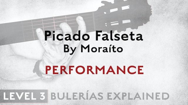 Bulerias Explained - Level 3 - Picado Falseta by Moraíto - PERFORMANCE