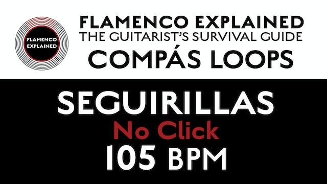 Compás Loops - Seguirilla - No Click 105 BPM