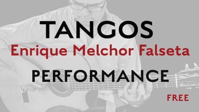 Friday Falseta - Tangos - Enrique Melchor Falseta Performance