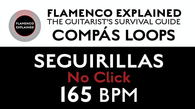 Compás Loops - Seguirilla - No Click 165 BPM
