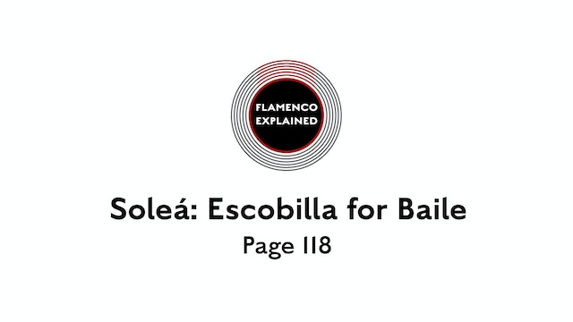 Solea Escobilla For Baile Page 118
