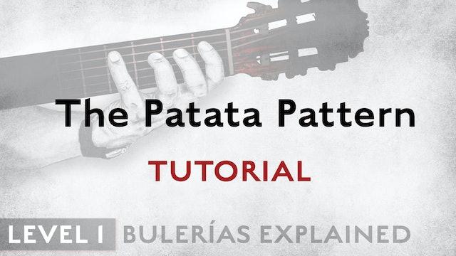 Bulerias Explained - Level 1 -The Patata Pattern - TUTORIAL