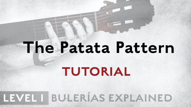 Bulerias Explained - Level 1 -The Pat...