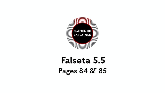 Bulerias Falseta Pages 84 & 85