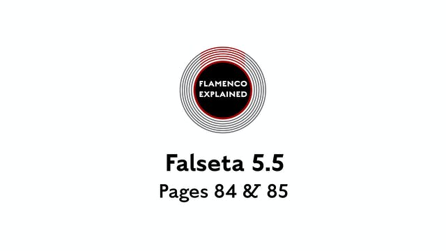 Bulerias Falseta Pages 84 & 85