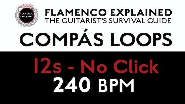 Compás Loops - 12s No Click 240 BPM