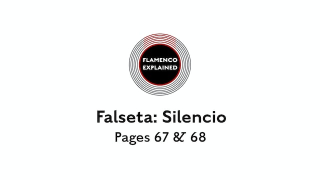 Alegrias Falseta Silencio Pages 67 & 68
