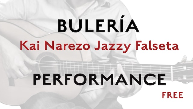 Friday Falseta Kai Narezo Jazzy Buleria Falseta - Performance