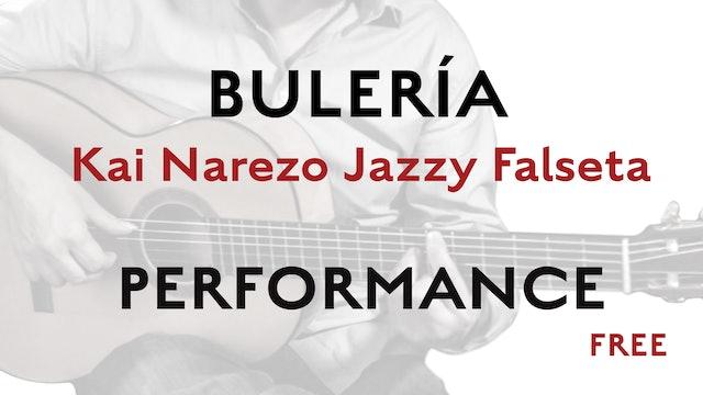 Friday Falseta Kai Narezo Jazzy Buleria Falseta - Performance