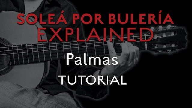 Solea Por Bulerias Explained - Palmas - TUTORIAL