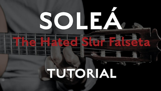 Friday Falseta - Hated Solea Slur Falseta - Tutorial