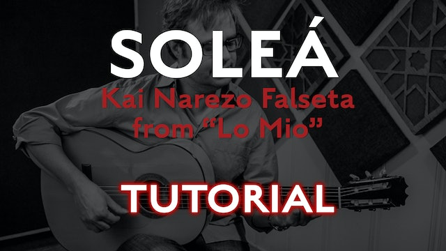 Friday Falseta - Kai Narezo Solea from Lo Mio - Tutorial