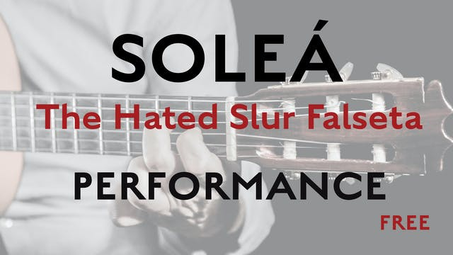 Friday Falseta - Hated Solea Slur Fal...