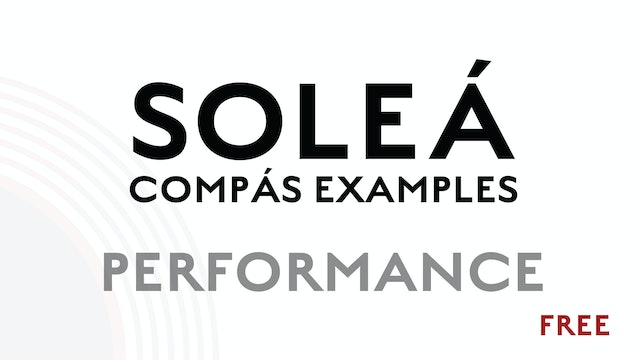 Solea Compas Examples - Performance