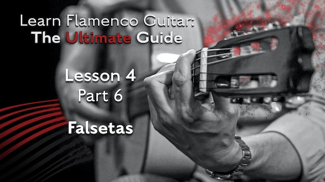 Lesson 4 - Part 6 - Falsetas