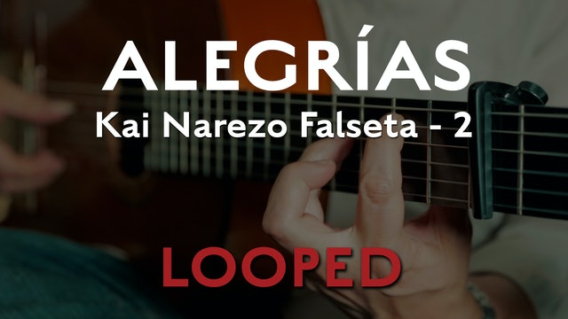 Friday Falseta Kai Narezo Alegrias Falseta #2 - LOOP