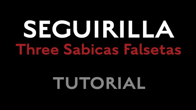 Friday Falseta - Seguirilla - Three Sabicas Falsetas Tutorial