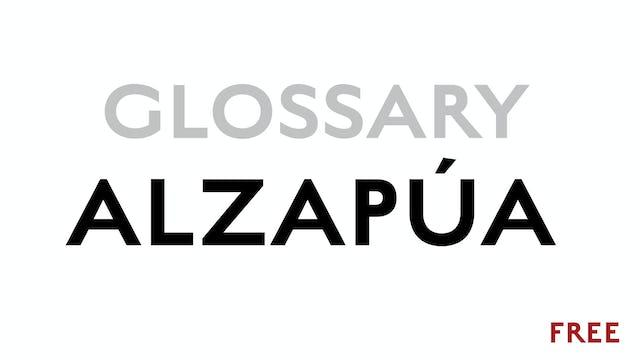 Alzapua - Glossary Term