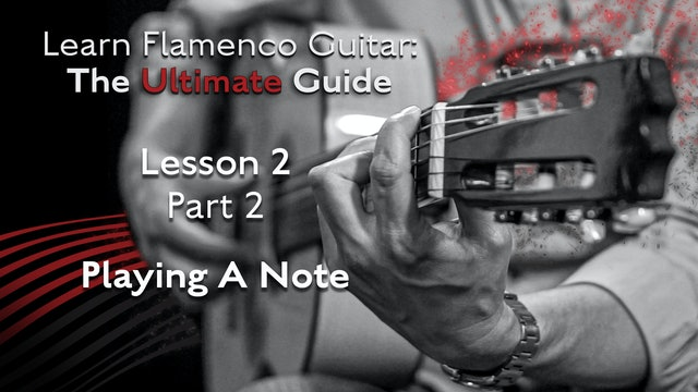 Lesson 2 - Part 2 - Playing A Note
