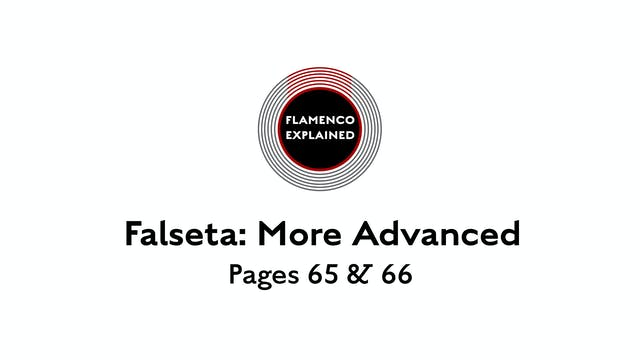Alegrias More Advanced Falseta Pages ...