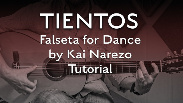 Tientos Explained - Falseta For Dance by Kai Narezo - Tutorial