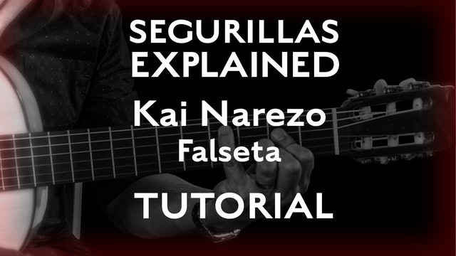 Seguirillas Explained - Kai Narezo Falseta - TUTORIAL