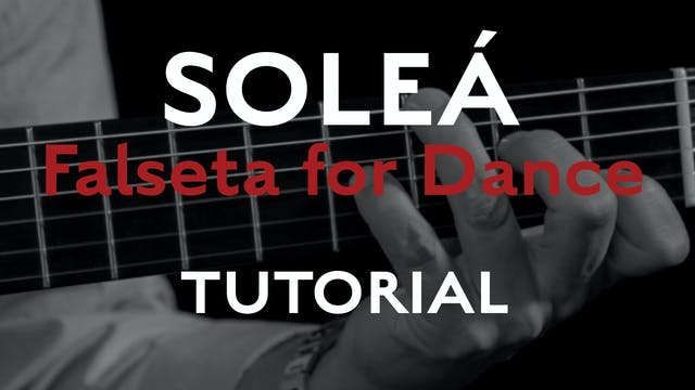 Friday Falseta - Solea Falseta for Da...