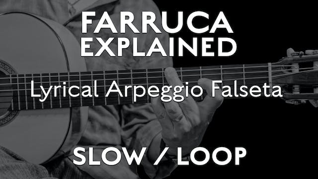 Farruca Explained - Lyrical Arpeggio ...
