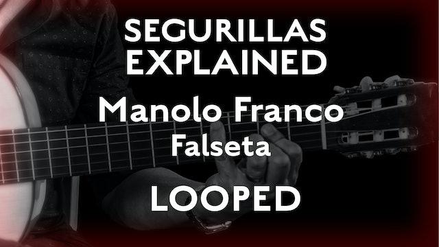 Seguirillas Explained - Manolo Franco Falseta - LOOPED