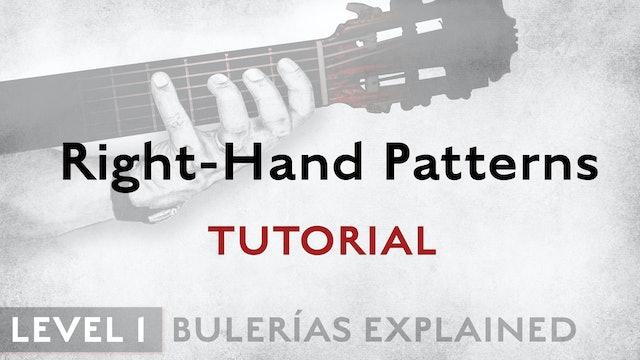 Bulerias Explained - Level 1 - Right-Hand Patterns - TUTORIAL