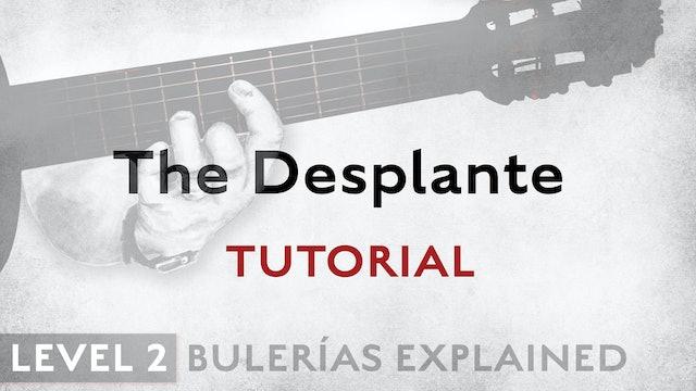 Bulerias Explained - Level 2 - The Desplante - TUTORIAL