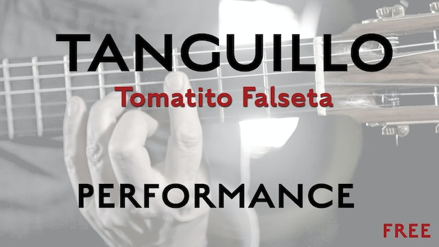Friday Falseta - Tomatito Tanguillo Falseta - Performance