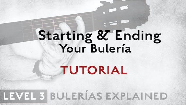 Bulerias Explained - Level 3 - Starti...