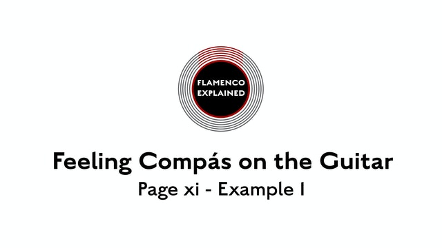 Feeling Compas on the Guitar page xi