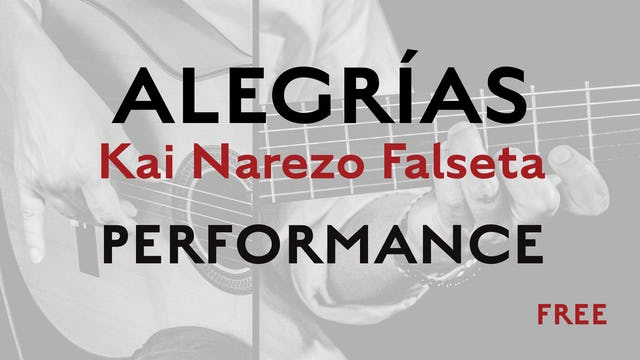 Friday Falseta - Alegrias - Kai Narezo Falseta Performance