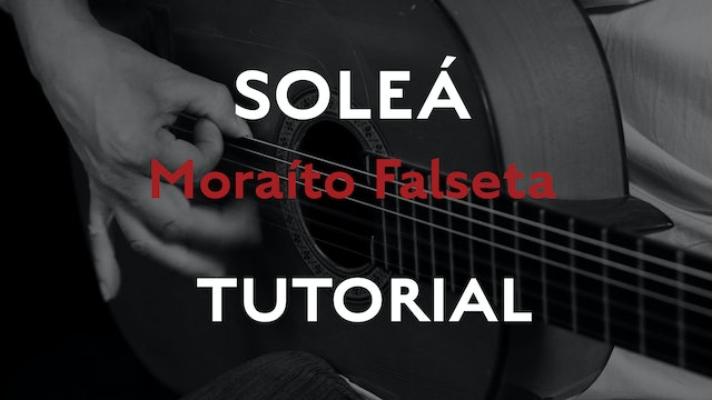 Friday Falseta - Solea Falseta by Moraito - Tutorial