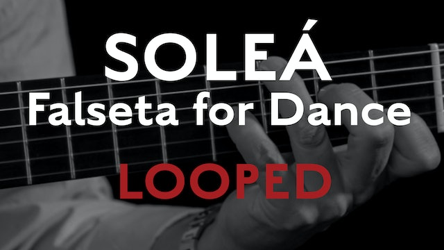 Friday Falseta - Solea Falseta for Dance - Looped