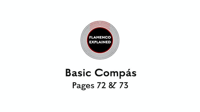 Bulerias Basic Compas Pages 72 & 73