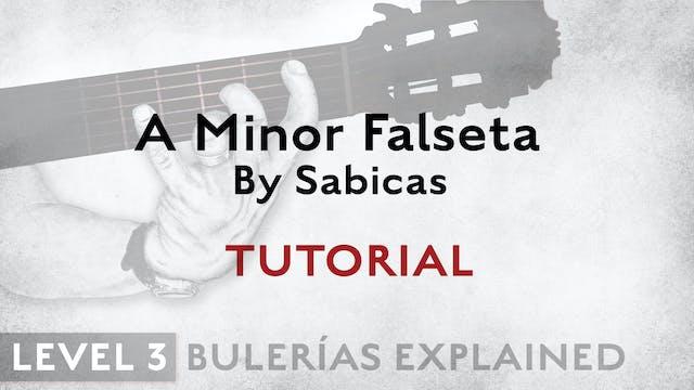 Bulerias Explained - Level 3 - A Mino...