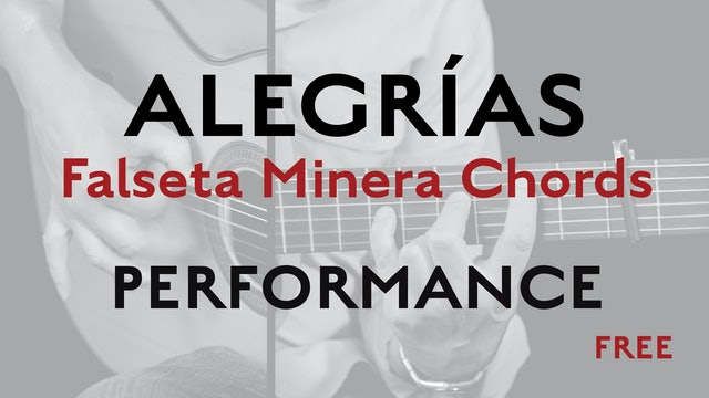 Friday Falseta - Alegrías Falseta Minera Chords - Performance