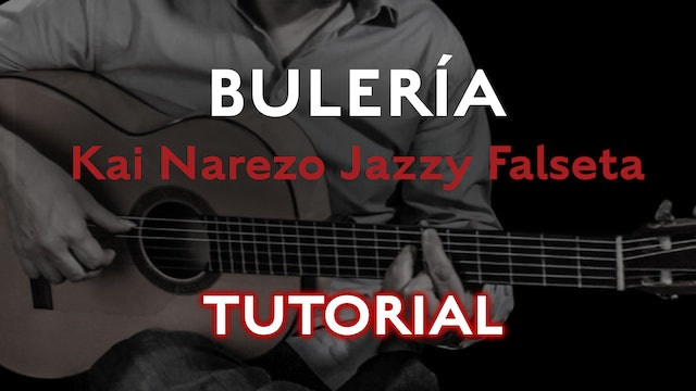 Friday Falseta Kai Narezo Jazzy Buleria Falseta - Tutorial