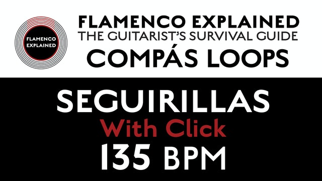 Compás Loops - Seguirilla - With Click 135 BPM