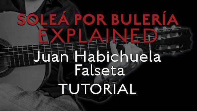 Solea Por Bulerias Explained - Juan H...