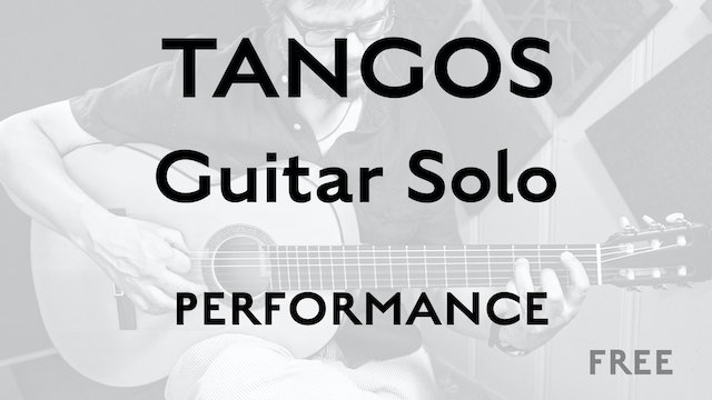 Tangos Explained - Guitar Solo - Performance