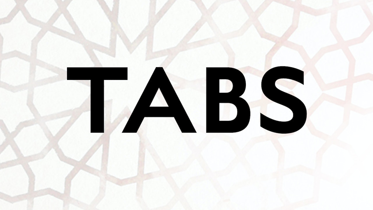 Tabs - available to download via desktop